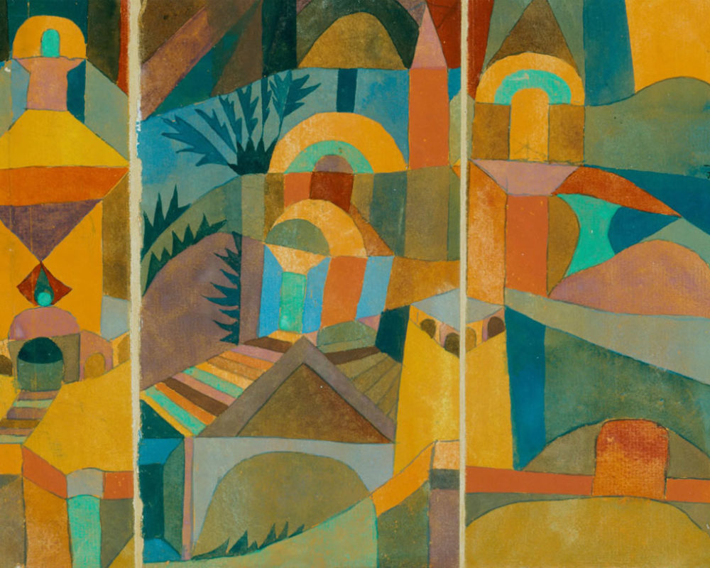 Paul Klee, Temple Gardens,1920