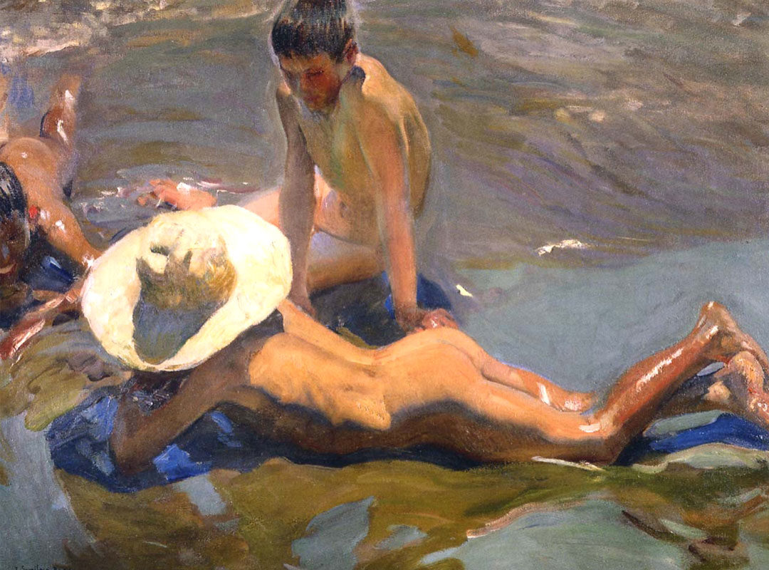 Joaquín Sorolla, Boys on the Beach, 1908
