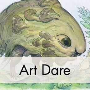 Creature Design Drawing, Julie Benbassat