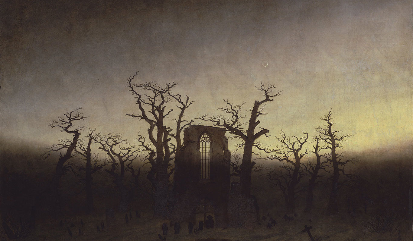 Caspar David Friedrich, The Abbey in the Oakwood,1809