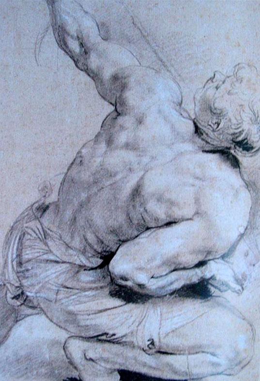 Peter Paul Rubens, Figure Drawing