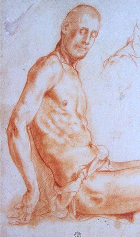 Pontormo, Figure Drawing