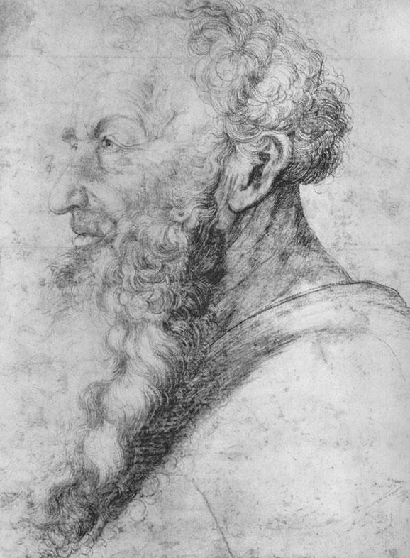 Matthias Grünewald, Portrait of Guido Guersi, 1512