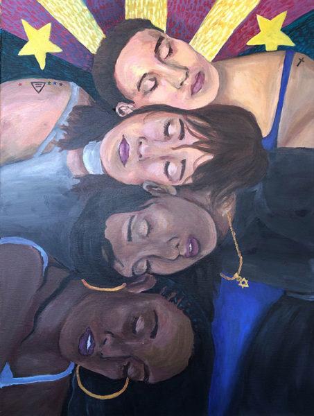 Dreamers, Acrylic Painting, Matthew Penado