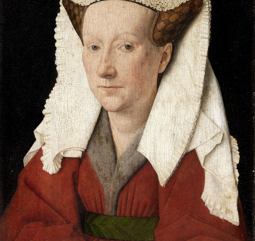 Jan Van Eyck, Portrait of Margareta van Eyck, 1439