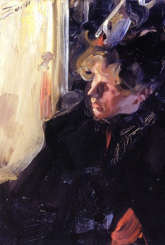 Anders Zorn, Omnibus. Etude, 1892