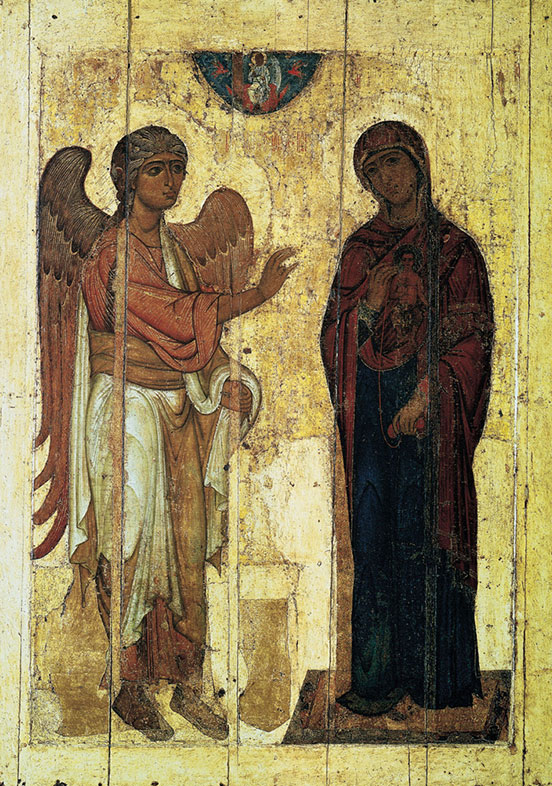 Annunciation of Ustyug, 12th centurya