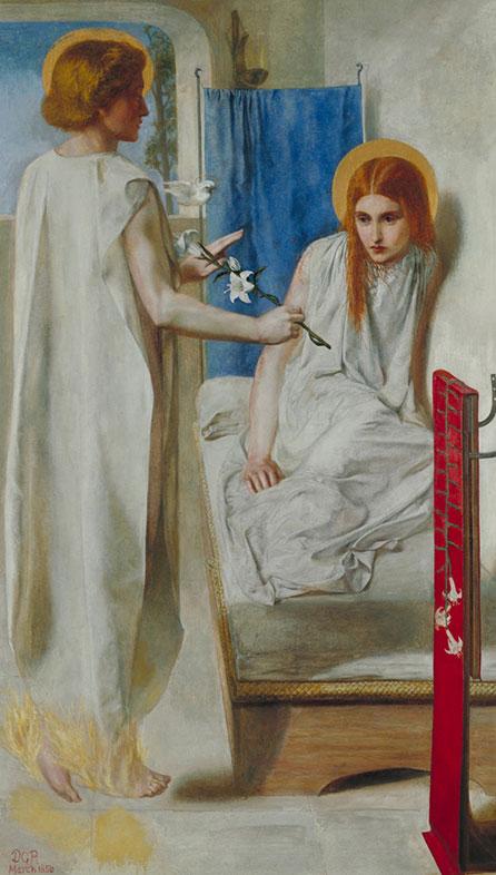 Dante Gabriel Rossetti, The Annunciation, 1849
