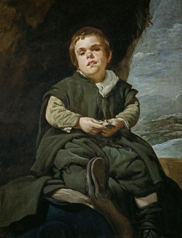 Diego Velázquez, Francisco Lezcano, el Niño de Vallecas, 1643