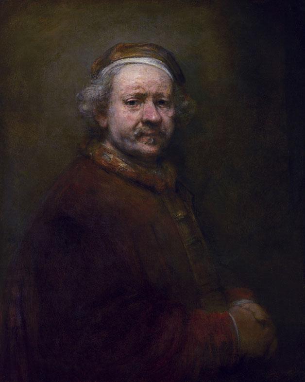 Rembrandt, Self-Portrait, 1669
