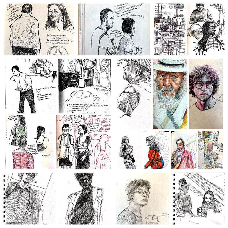 Art School Admissions Portfolio, Luna Yuan