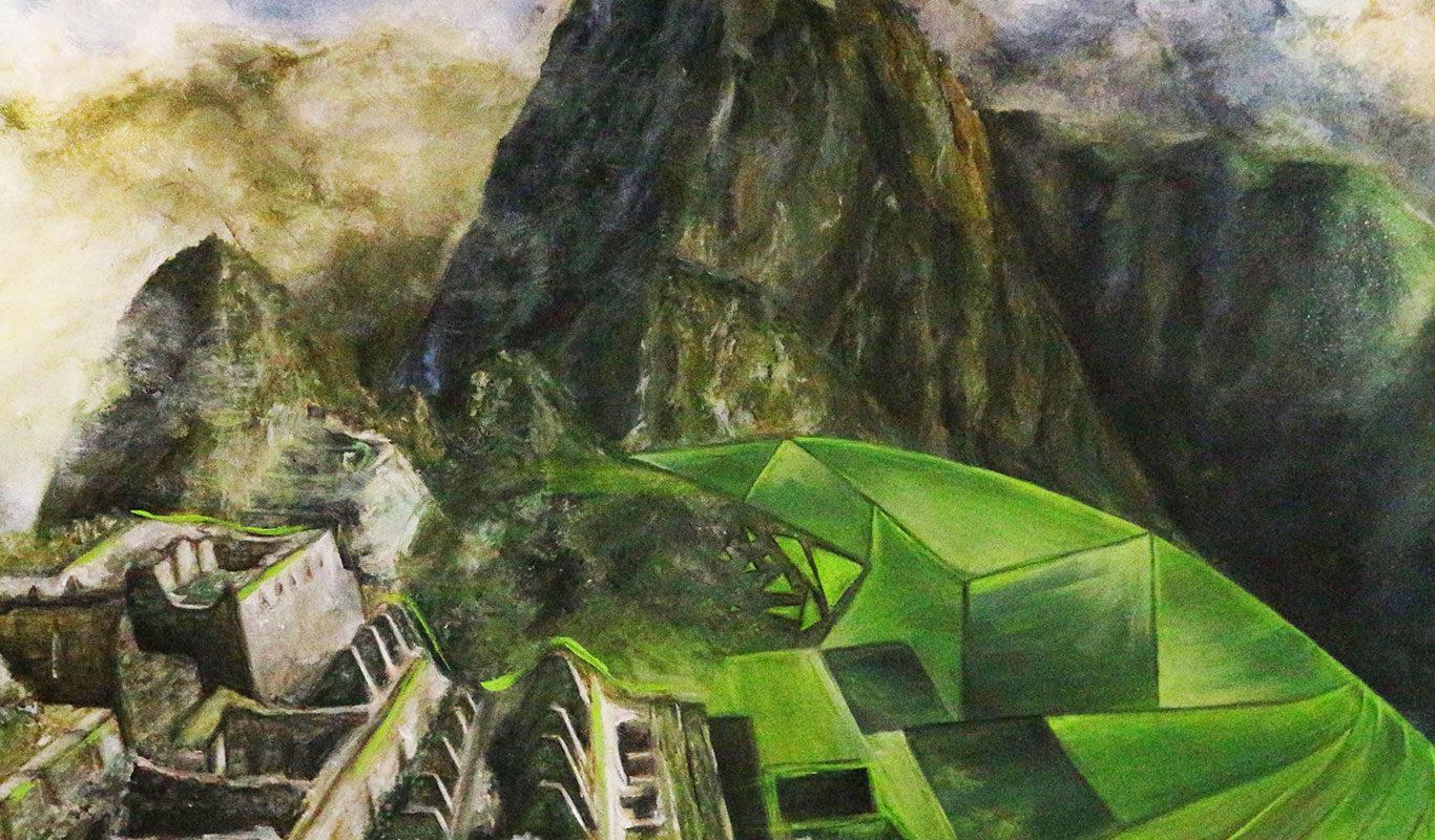 Landscape Painting, Darinka Arones