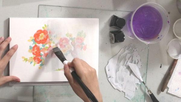 Marker Drawing Sketch, Song Kang