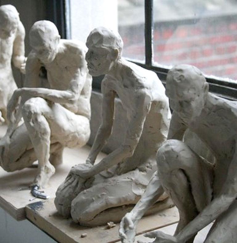 Plastilene Sculptures, Clara Lieu