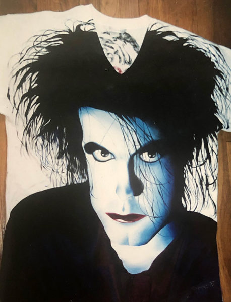 Fan art T-shirt, Robert Smith from The Cure