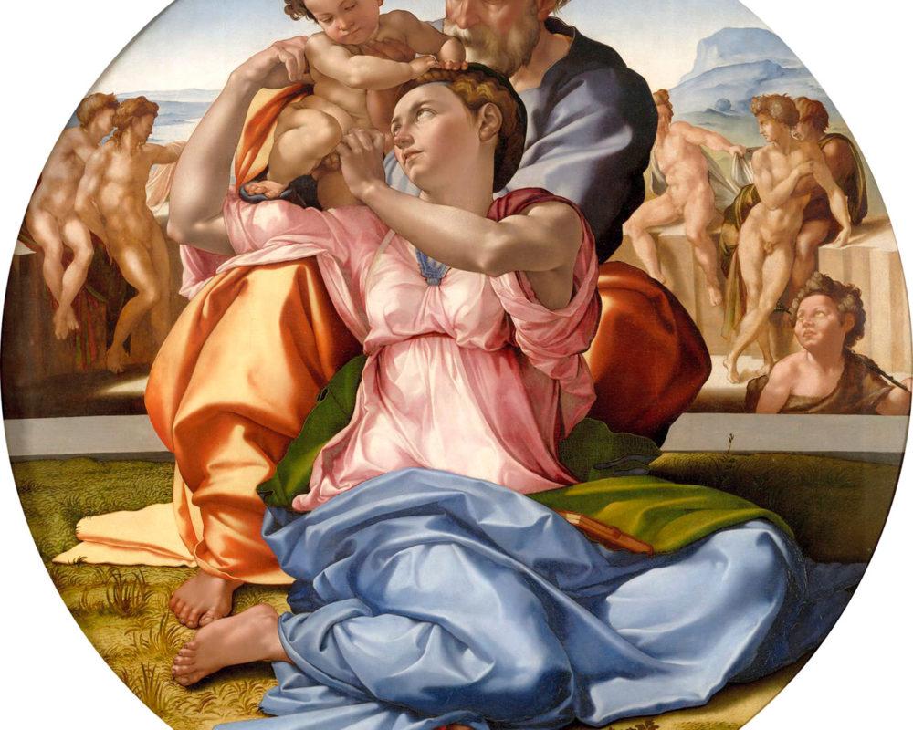 Michelangelo, Tondo Doni, 1507