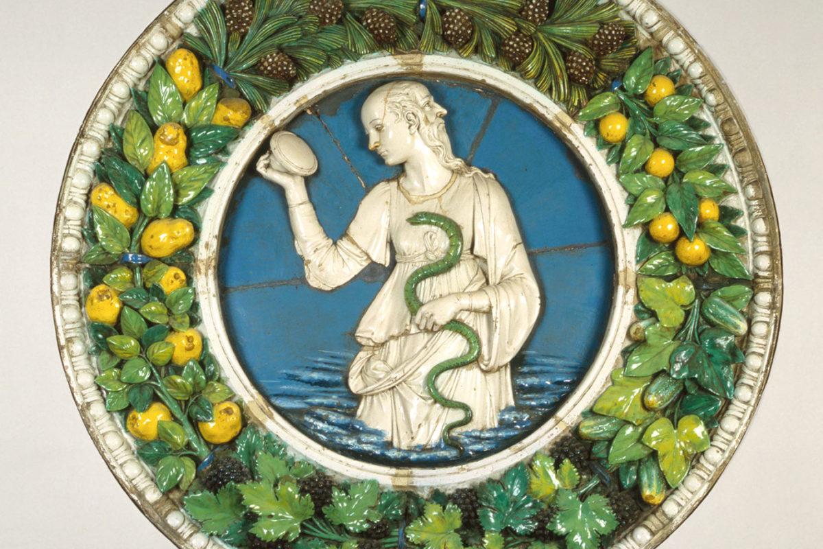 Andrea della Robbia, Prudence,1475