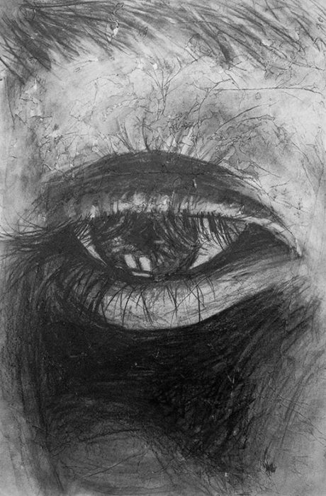 Charcoal Drawing, Sara Michaels