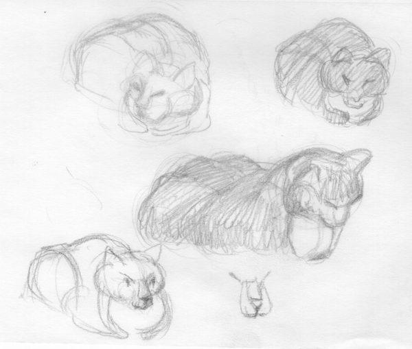 Gesture Drawing, Joan Savitt