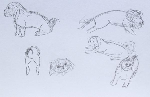 Gesture Drawing, Angela Lawson