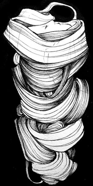 Ballpoint Pen Drawing, Amelia Rozear