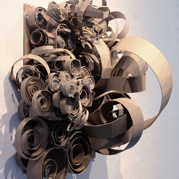 Chipboard Sculpture