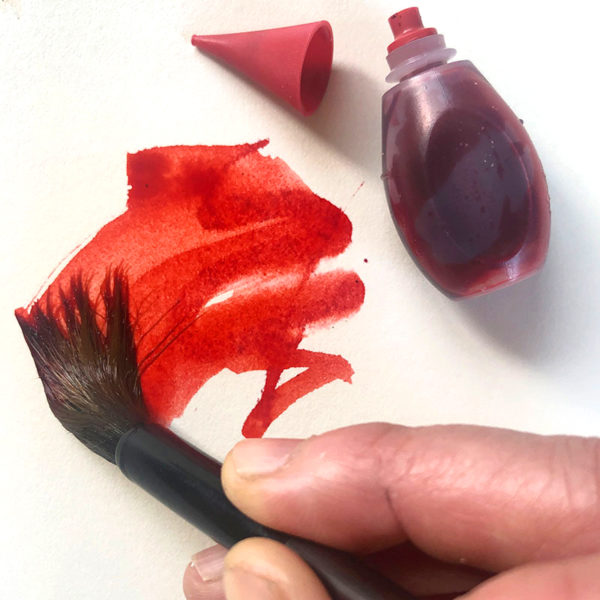 Painting with Food Coloring