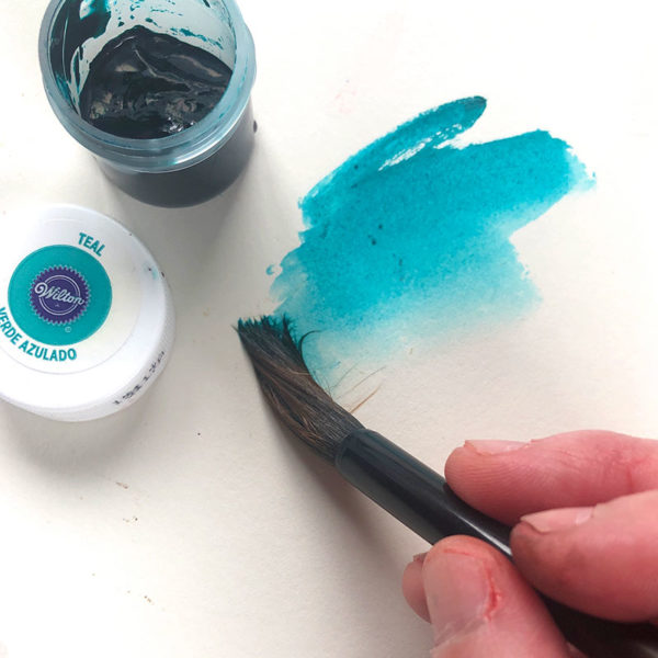 Painting with Icing Coloring