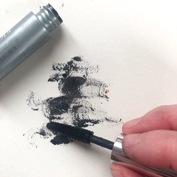 Drawing with Mascara