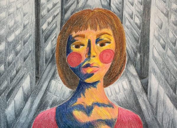 February Art Dare, Alexa Payne