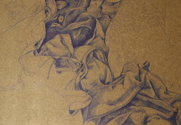 Tabea Reif, Ballpoint Pen Drawing
