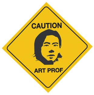 Art Prof Caution Sticker