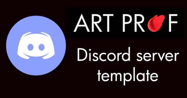 Art Prof Discord Server Template