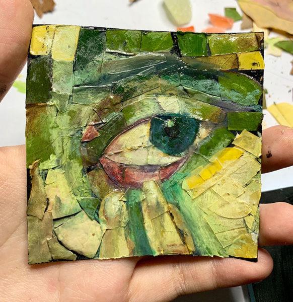 Leaf Mosaic, Luna Yuan