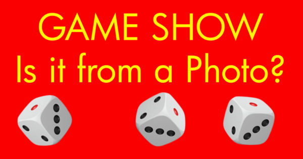 Art Prof Game Show: Is it from a Photo?