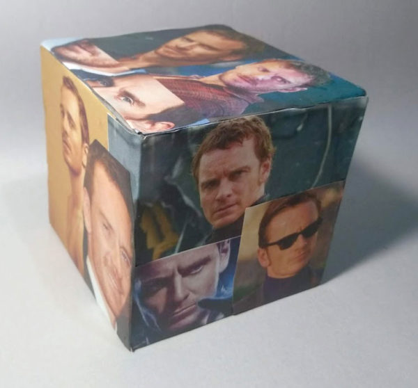 3D Texture Cube Sculpture, Tom Gilley