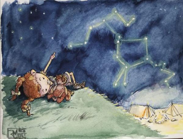 Jasmin Weigelt, Illustration
