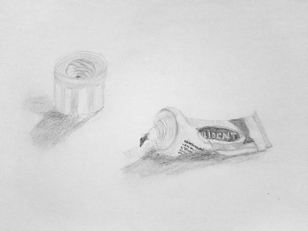 Paula V. Fernandez, Pencil Drawing