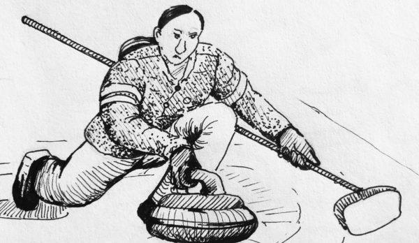 Genevieve Barlas, Ink Drawing