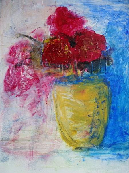 Ashis Sud, acrylic painting