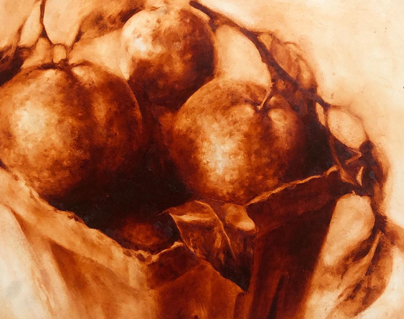Water Mixable Oil Painting Still Life, Clara Lieu