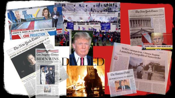 Newspaper Collage, Hannah Korza