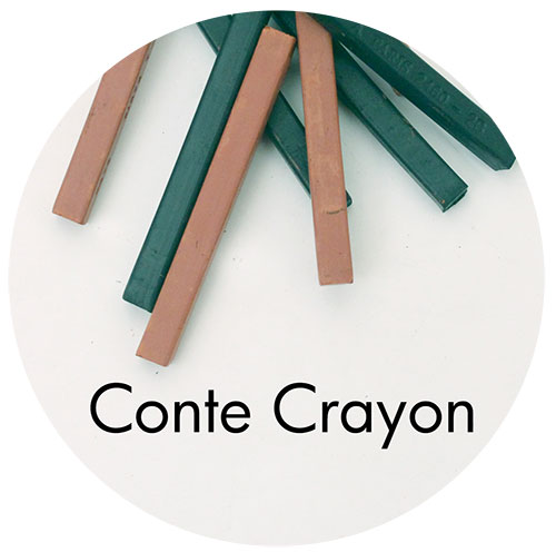 Art Prof, Art Supply Encyclopedia: Conte Crayon