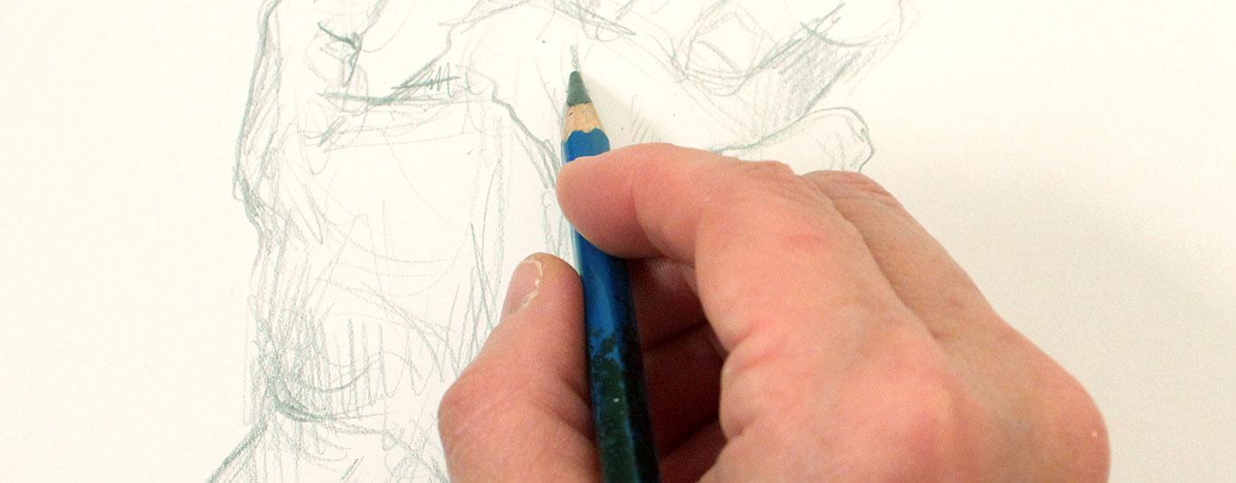 Gesture Drawing in pencil