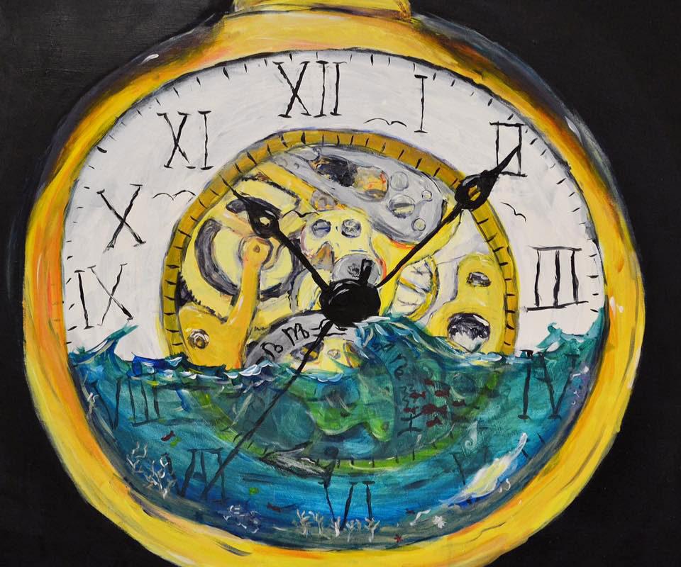 Art School Admissions Portfolio: Mixed Media Painting