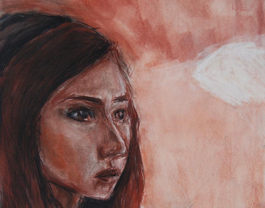 Art School Admissions Portfolio: Soft Pastel Drawing