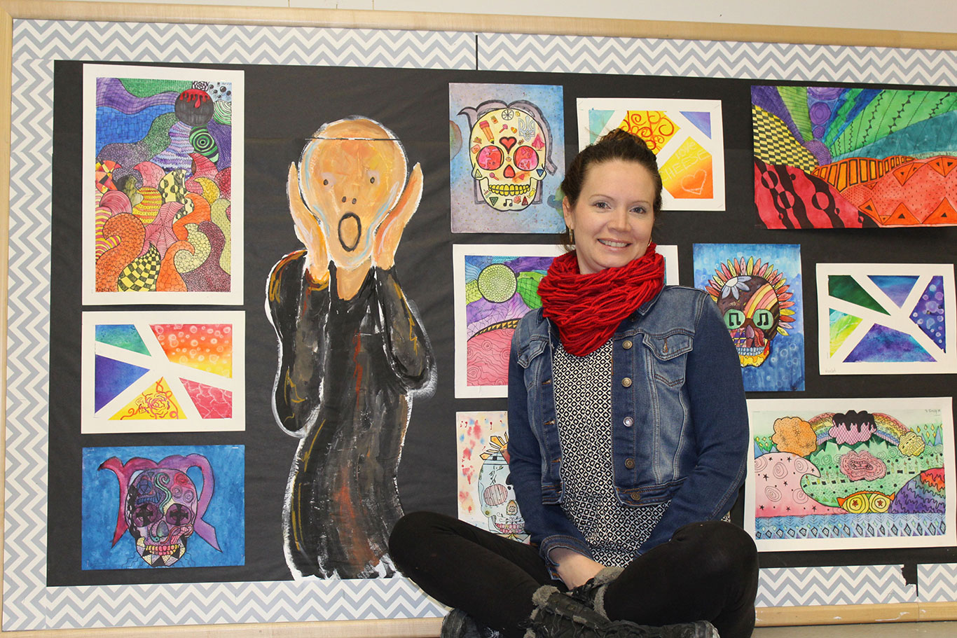 Art Teacher Shelly Leroux