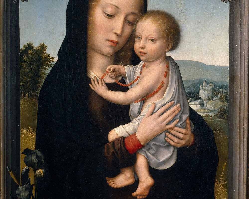 David Gerard, Virgin & Child