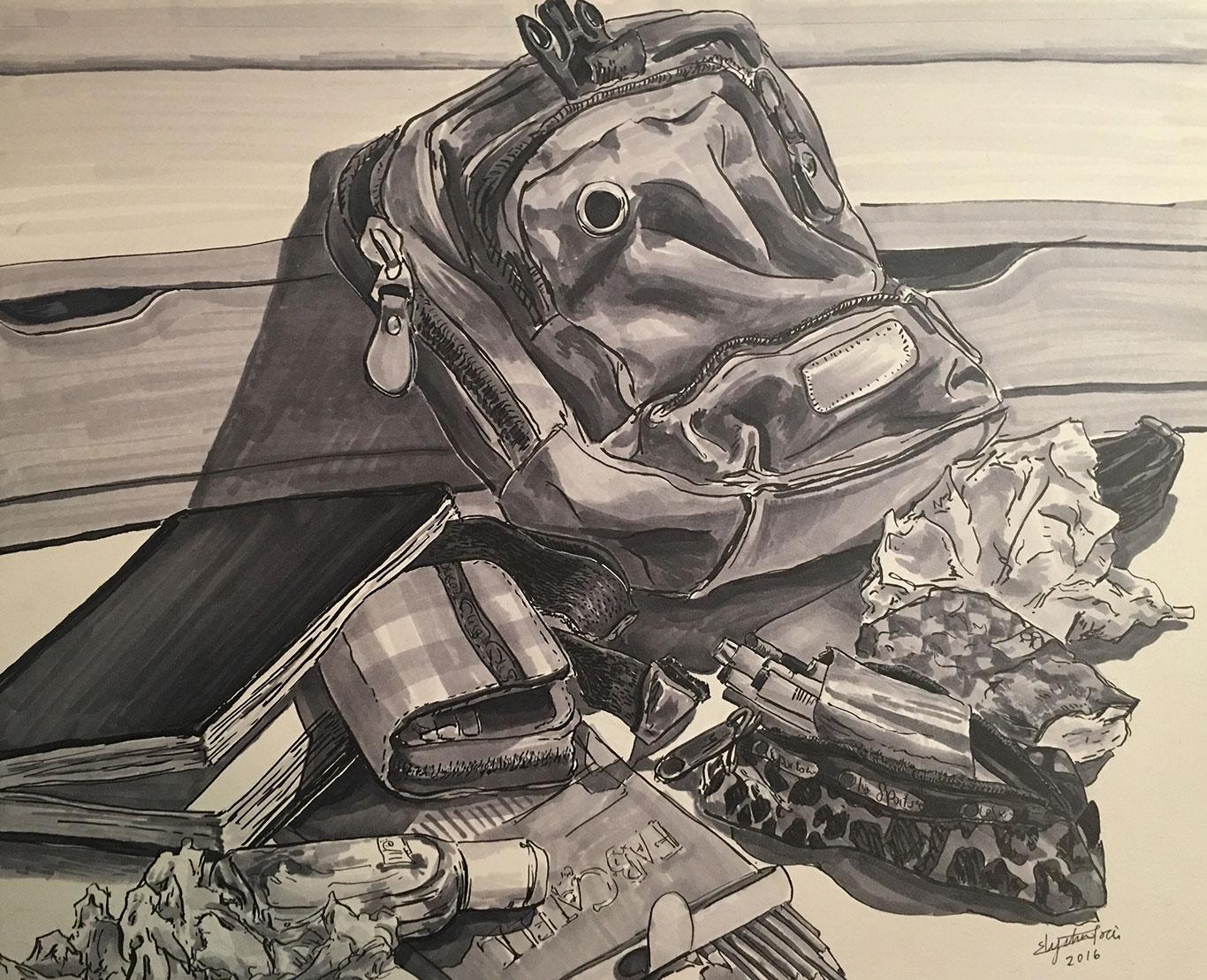 Marker Drawing by Elysha Tsai