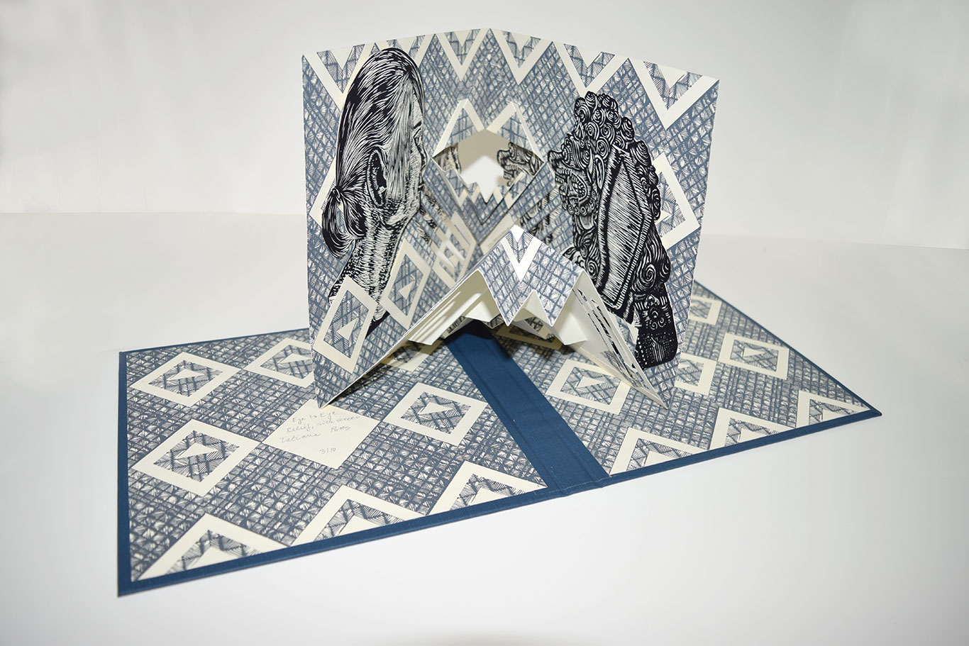 Handmade Artist's Book by Tatiana Potts